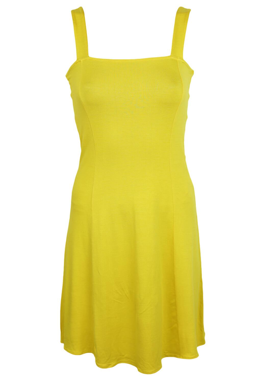 Rochie Stradivarius Janine Yellow