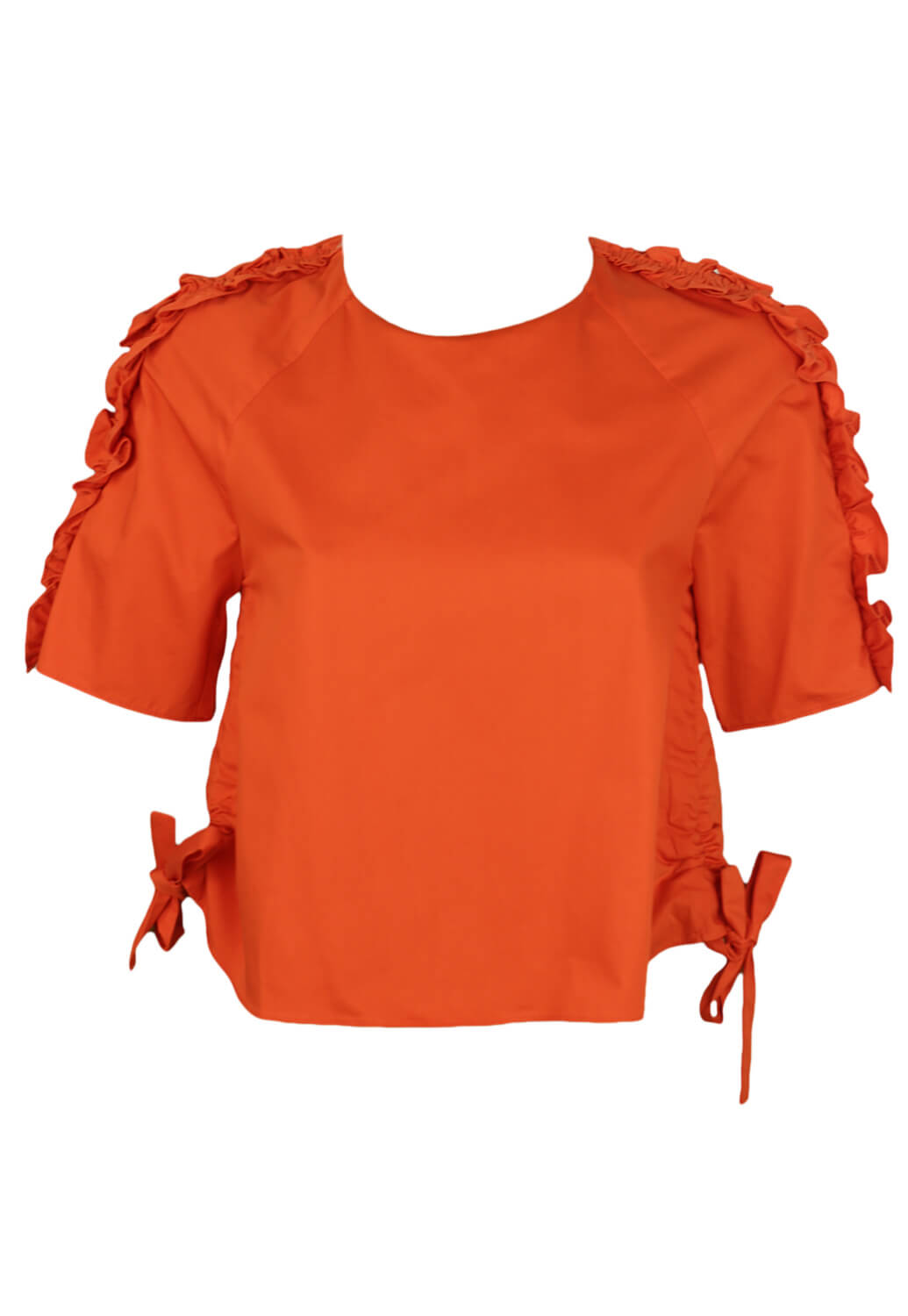 Tricou ZARA Nicole Dark Orange