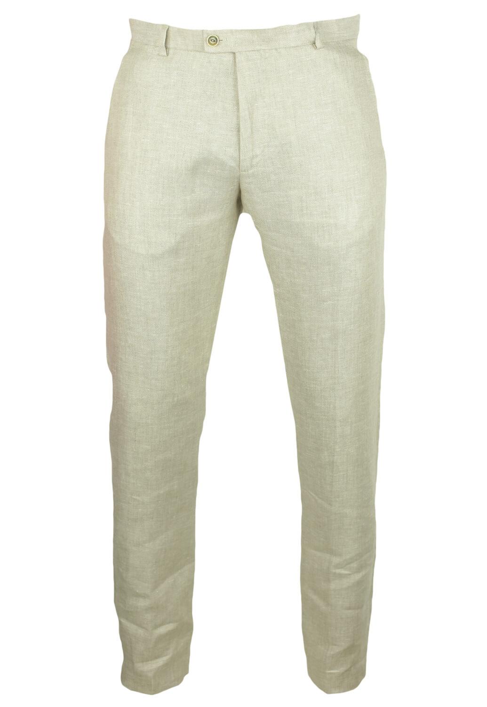 Pantaloni de stofa ZARA Rocky Light Beige