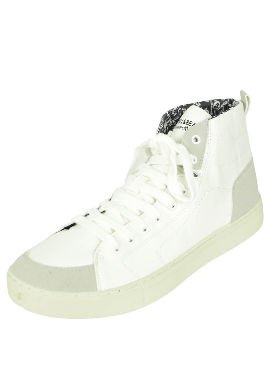 Adidasi Pull&Bear Carros White