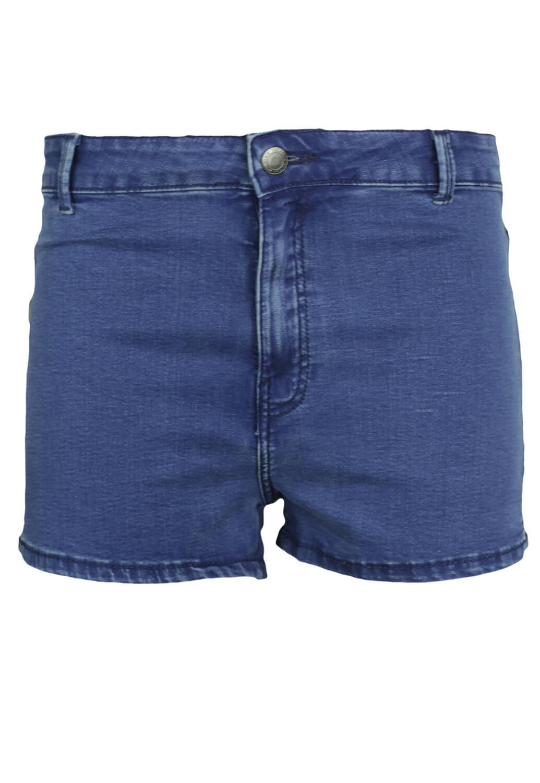 Pantaloni scurti Bershka Kora Dark Blue