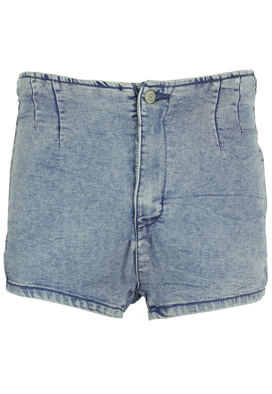 Pantaloni scurti Bershka Carly Blue