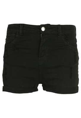 PANTALONI SCURTI BERSHKA SOLE BLACK