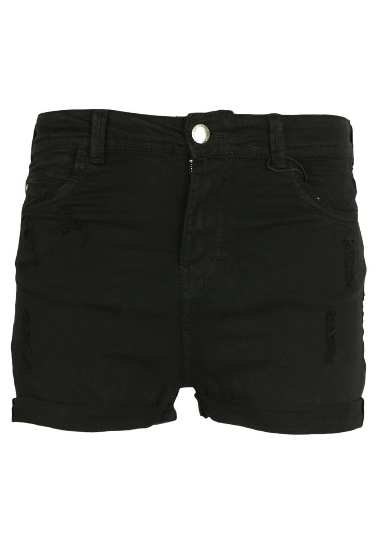 Pantaloni scurti Bershka Sole Black