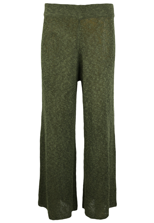 Pantaloni ZARA Della Dark Green