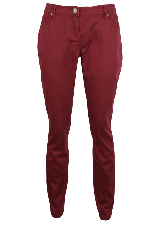 Pantaloni Zero Donna Dark Red