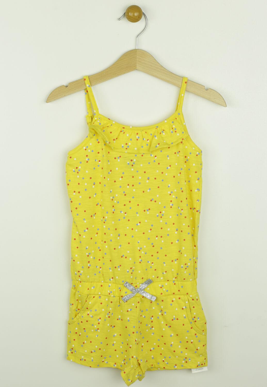 Salopeta Kiabi Lara Yellow