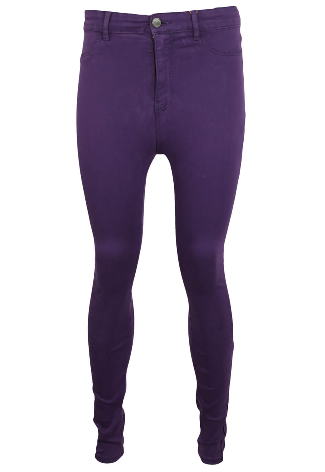 Pantaloni Stradivarius Georgia Dark Purple