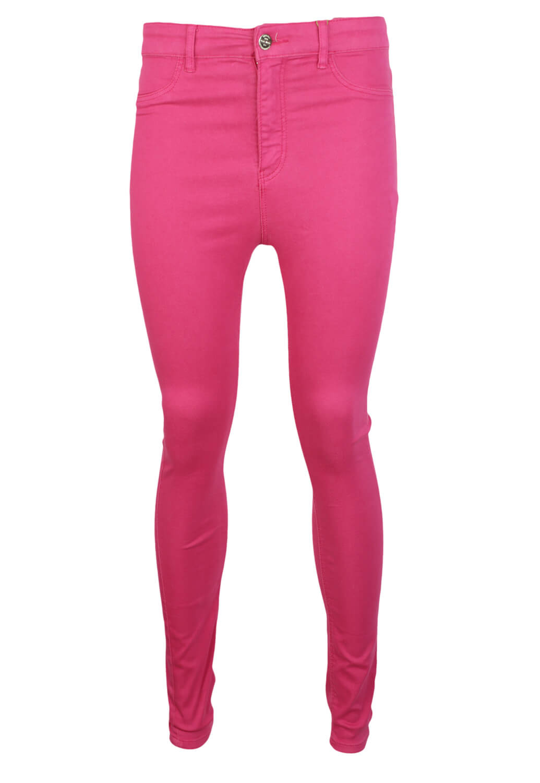 Pantaloni Stradivarius Hailey Dark Pink