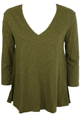 BLUZA ZARA ALICIA DARK GREEN
