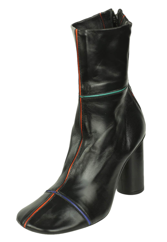 calitate cel mai ieftin pret diverse stiluri Cizme piele ZARA Betty Black - Magazin Online Haine