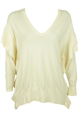 BLUZA ZARA LARA LIGHT BEIGE