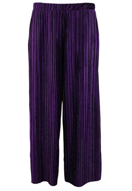 PANTALONI ZARA CHLOE DARK PURPLE