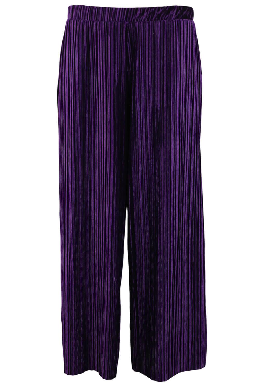 Pantaloni ZARA Chloe Dark Purple