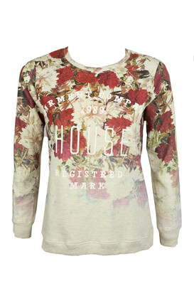 BLUZA HOUSE FLORAL COLORS
