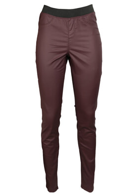 PANTALONI RESERVED ELLE DARK RED