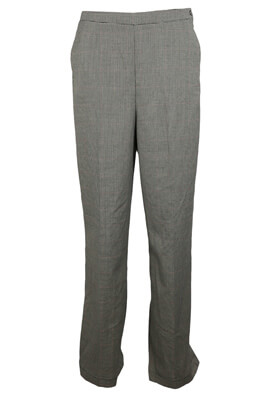 PANTALONI RESERVED NICOLE DARK GREY