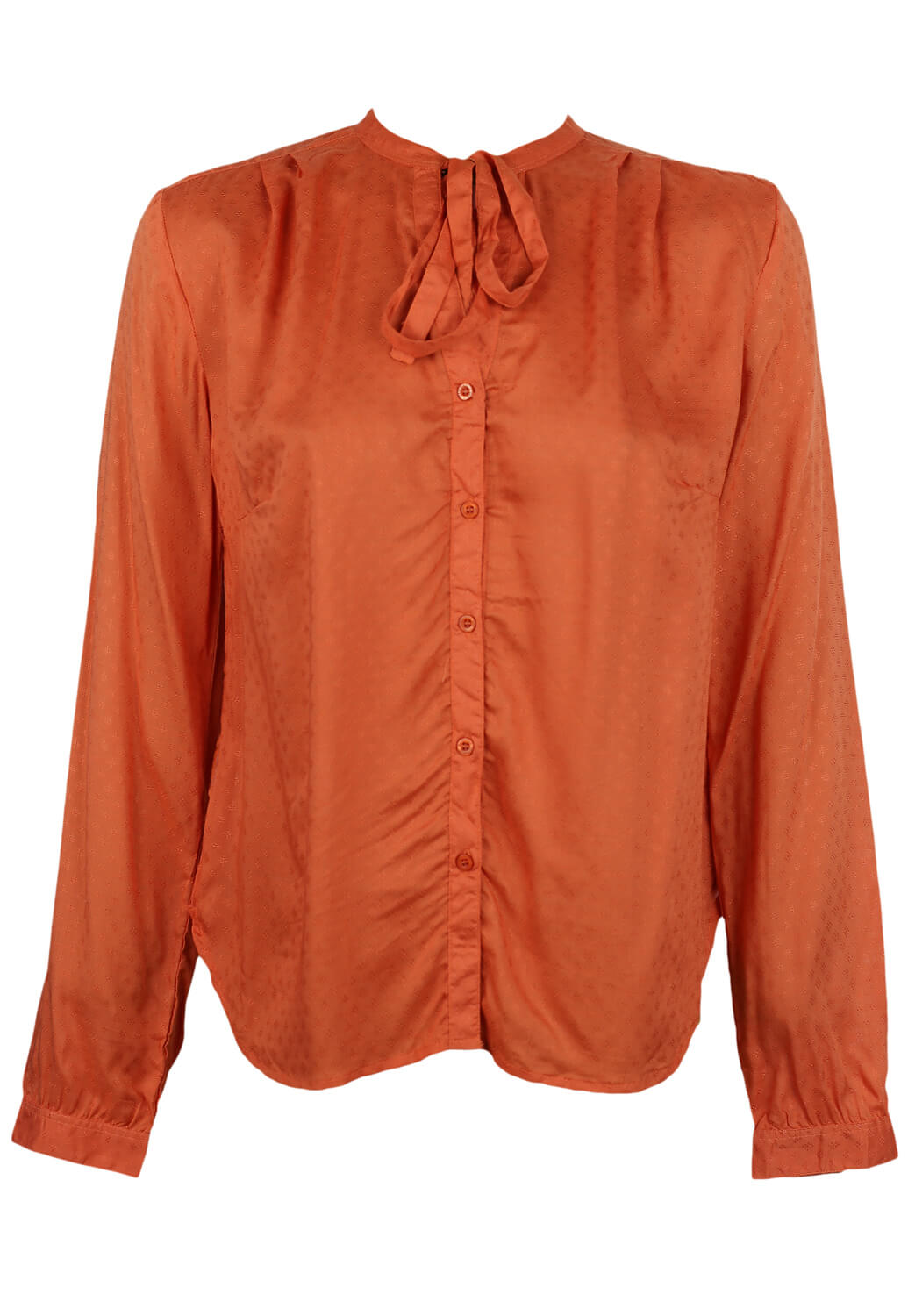 Camasa Reserved Laura Dark Orange