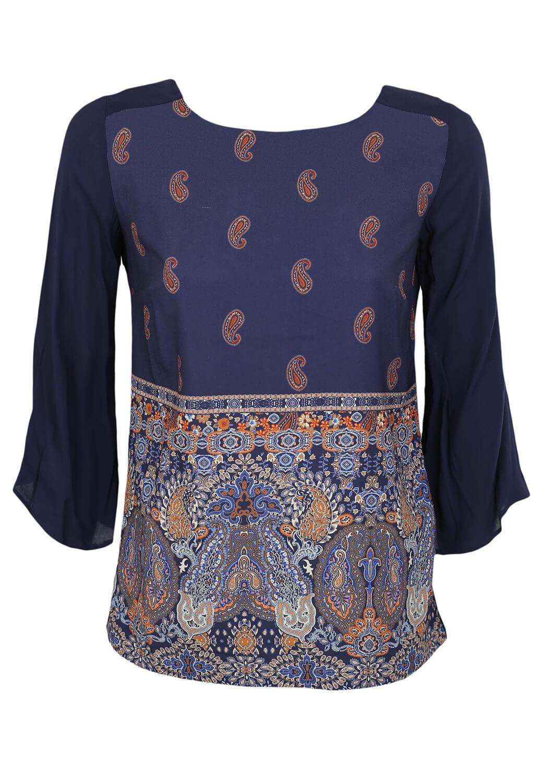 Bluza Reserved Ciara Dark Blue