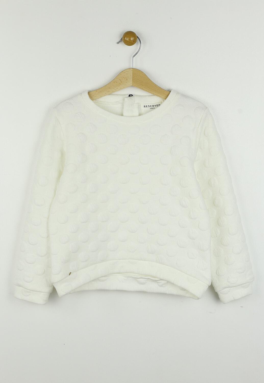 Bluza Reserved Geri White