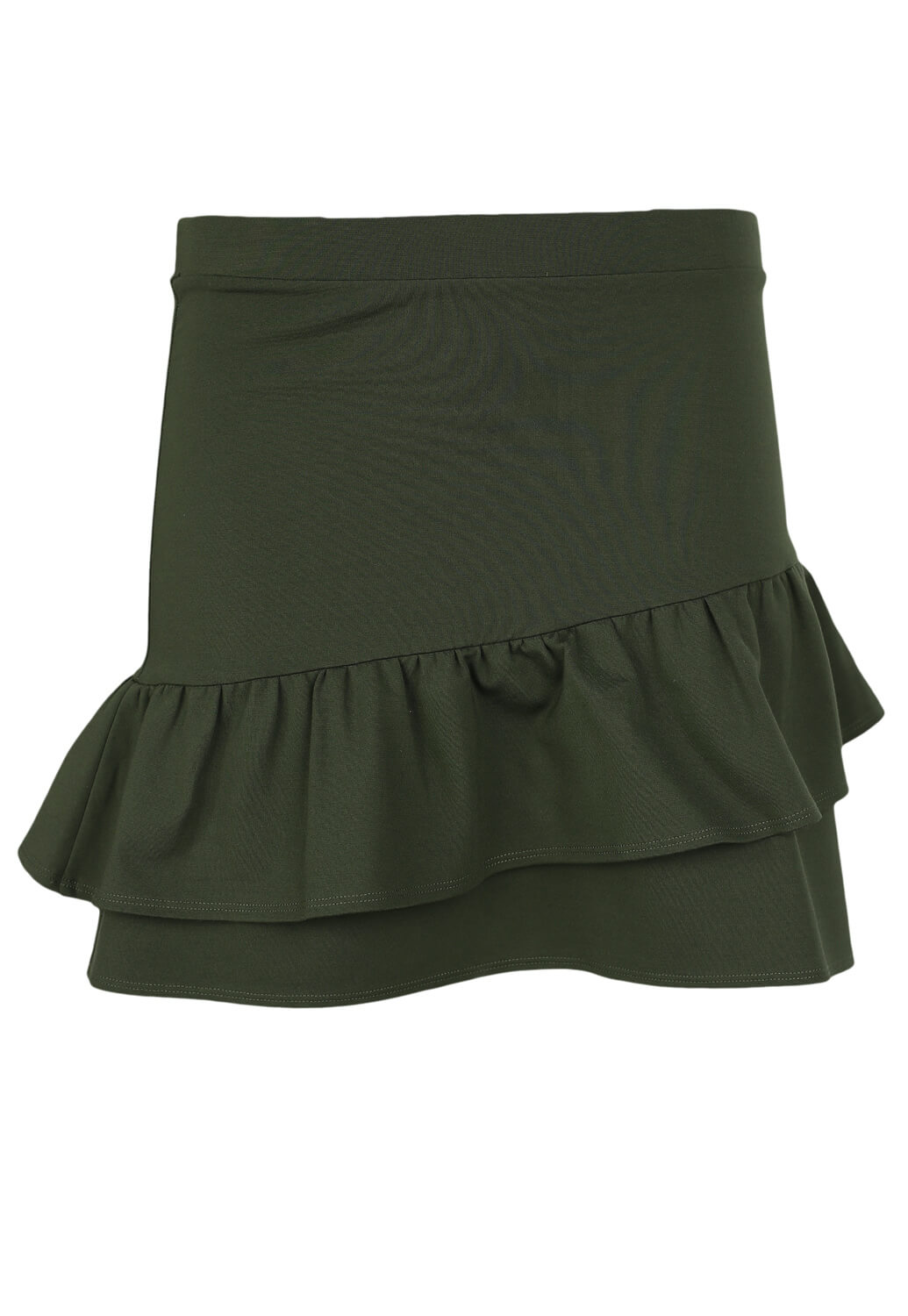 Fusta Sinsay Basic Dark Green