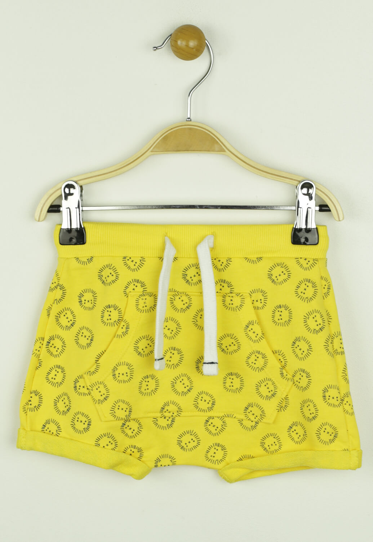 Pantaloni scurti Kiabi Benny Yellow