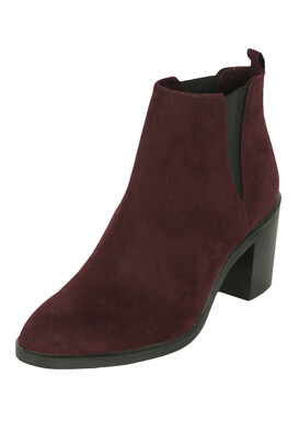 BOTINE STRADIVARIUS MIREILLE DARK PURPLE