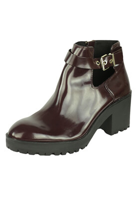 GHETE STRADIVARIUS ZOE DARK RED