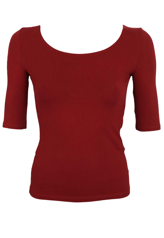 Tricou Bershka Georgia Red
