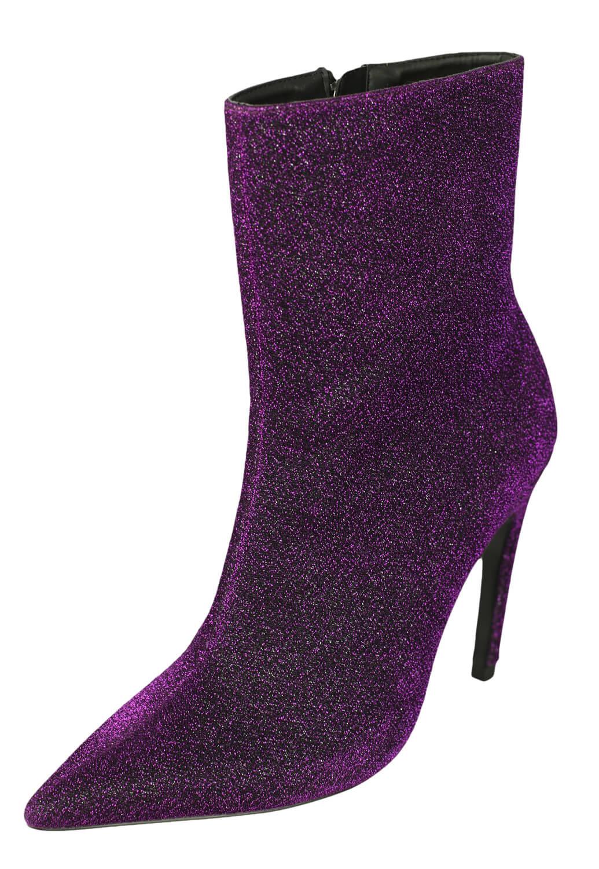 Botine ZARA Irene Purple