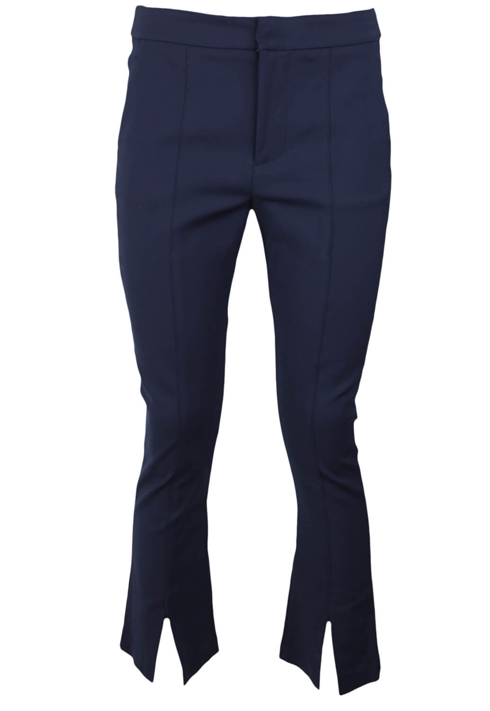 Pantaloni de stofa ZARA Julia Dark Blue