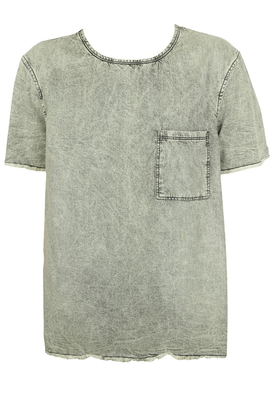 Tricou ZARA Randall Light Grey