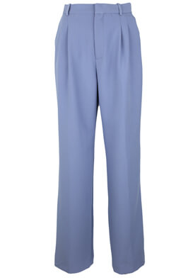 PANTALONI DE STOFA ZARA ALICE LIGHT BLUE