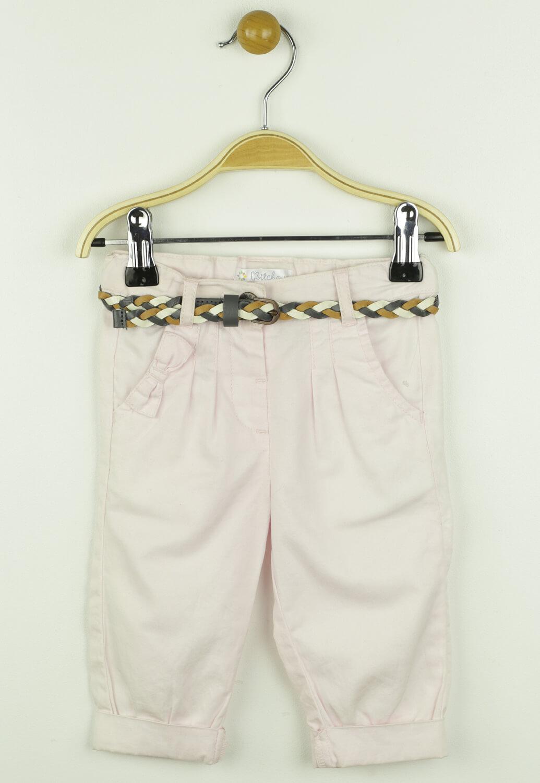 Pantaloni de stofa Kitchoun Jane Light Pink