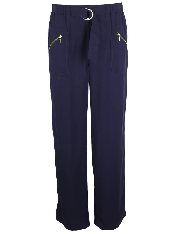 Pantaloni Promod Hanna Dark Blue