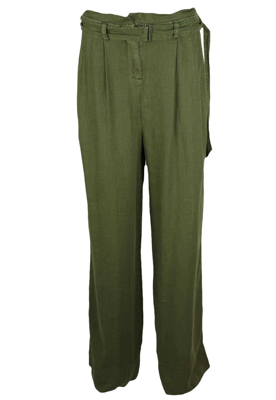 Pantaloni Promod Lizzy Dark Green