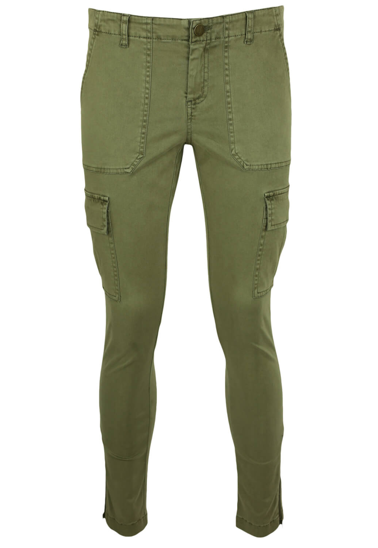 Pantaloni Promod Aimee Dark Green