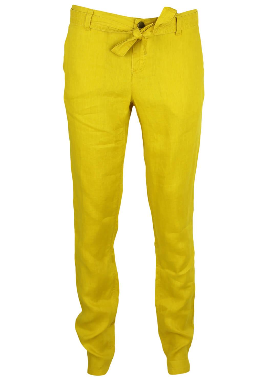 Pantaloni Promod Rebecca Dark Yellow