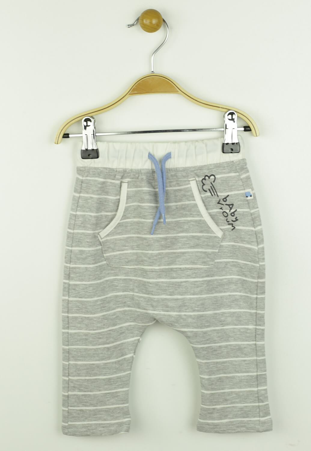Pantaloni Kiabi Riley Light Grey