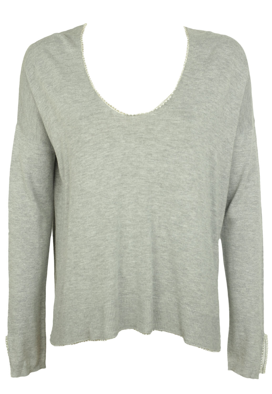Bluza Promod Lara Light Grey