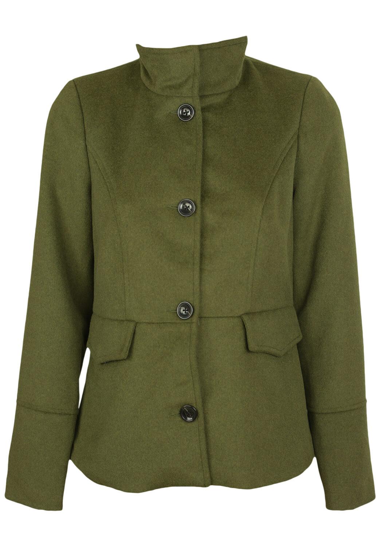Palton Vero Moda Gabriella Dark Green