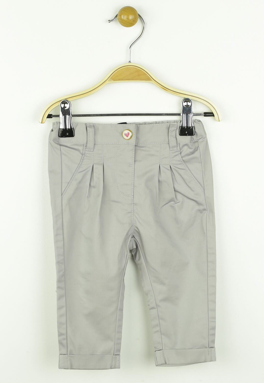 Pantaloni Kiabi Paula Light Grey