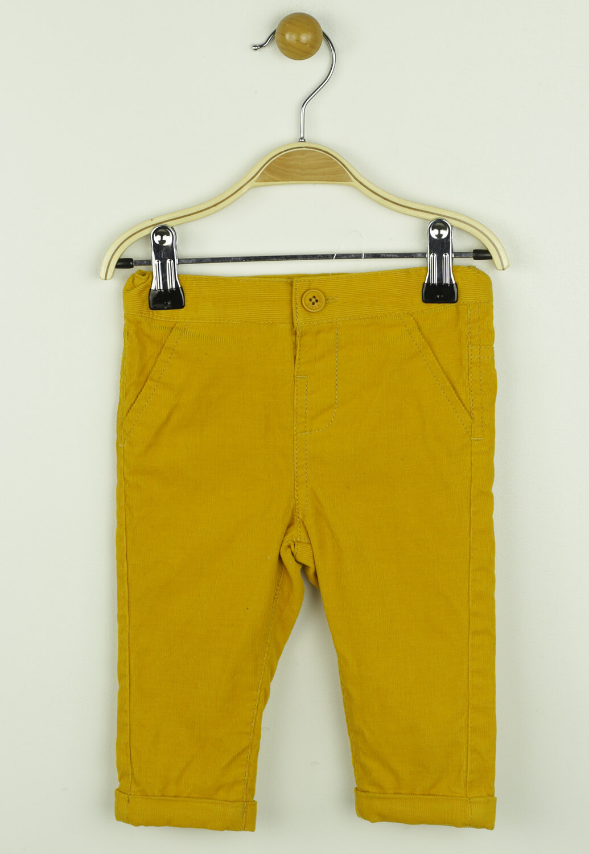 Pantaloni Kiabi Leo Dark Yellow