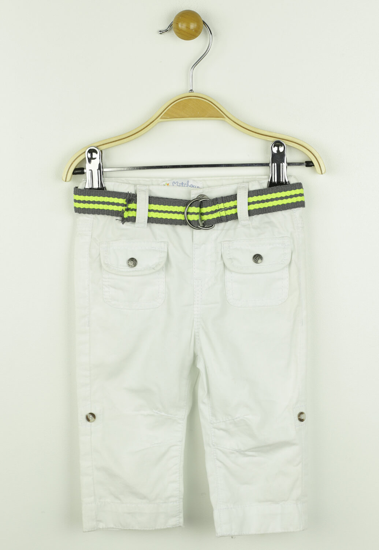 Pantaloni Kitchoun Nile White