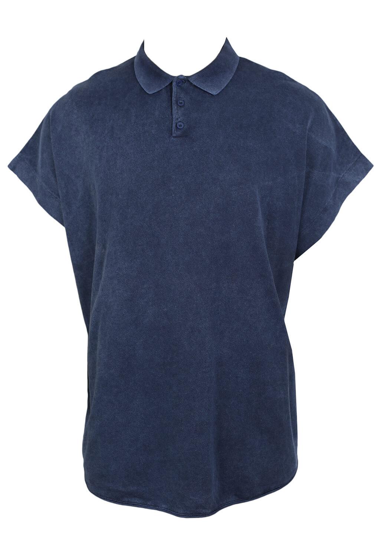 Tricou Polo ZARA Tom Dark Blue