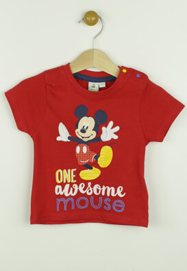 TRICOU DISNEY MICKEY MOUSE RED
