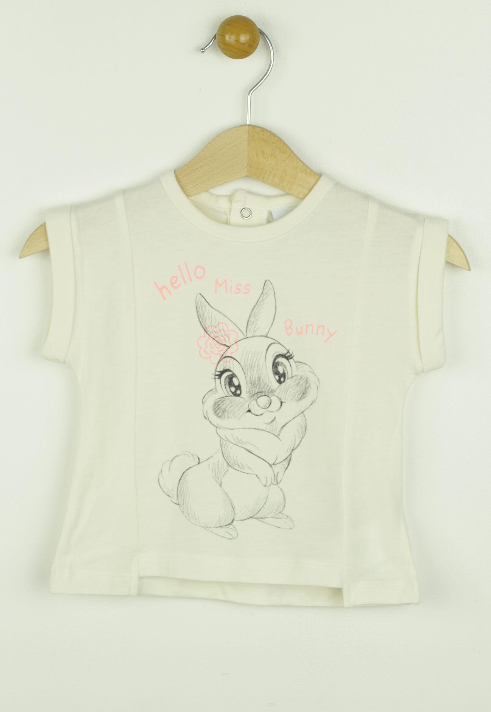 Tricou Disney Bunny White
