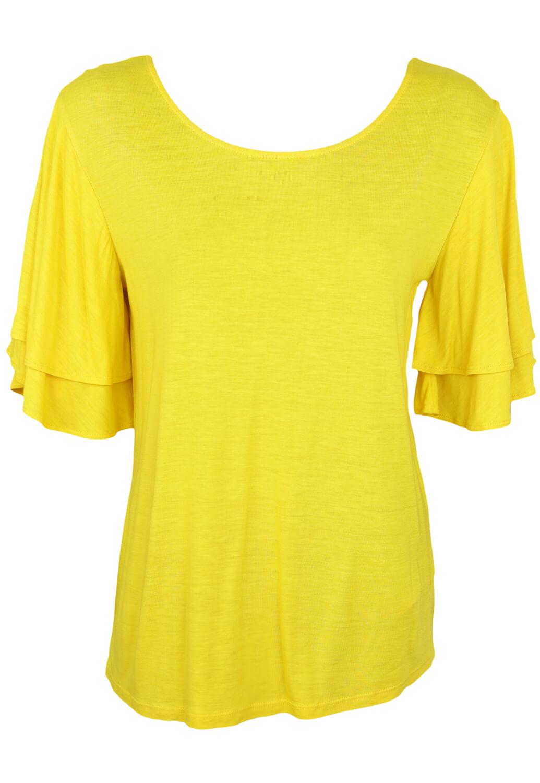 Tricou Kiabi Tasha Yellow