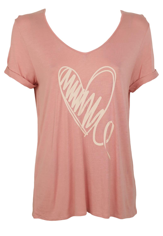 Tricou Kiabi Vanessa Pink