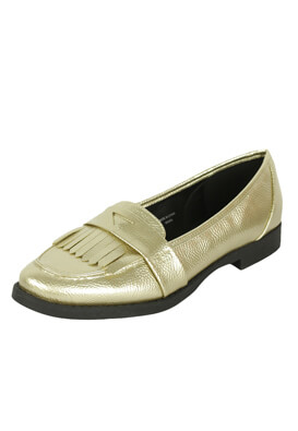 MOCASINI KIABI KINGA GOLDEN